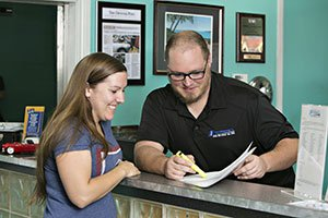 Customer Service Interaction | Pickering's Auto Service